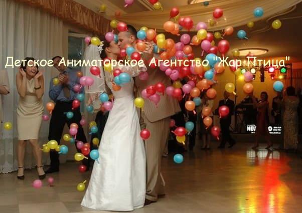 Оформление шарами свадьбы своими рукам фото 406